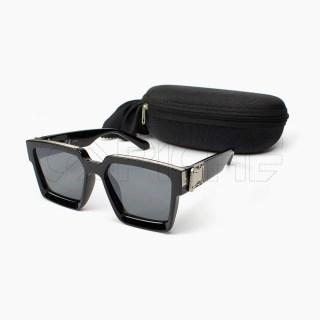 Óculos de sol retro Prata