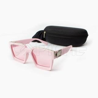Óculos de sol retro Rosa