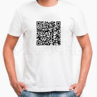 Tshirt Homem QR Personalizável