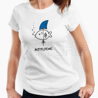 Tshirt Senhora Atitude