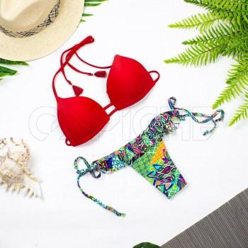 Bikini Railay Vermelho