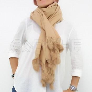 Écharpe Babe camel