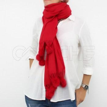 Écharpe Babe vermelha