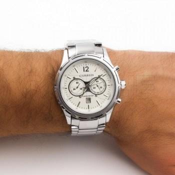Relógio Aço Ducato silver