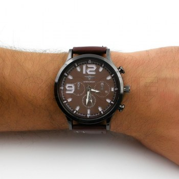 Relógio Storm Castanho