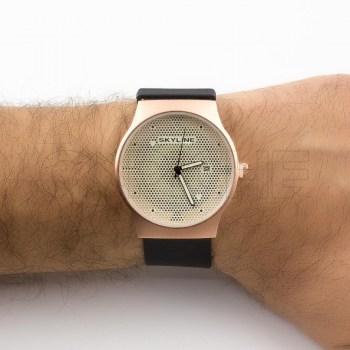 Relógio Ilusion bronze