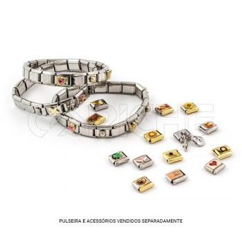 Bracelete lisa para aplicação de Simbolos