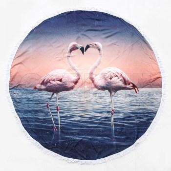 Mandala Flamingos