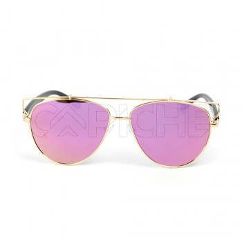 Óculos de Sol Technologic Pink/Green