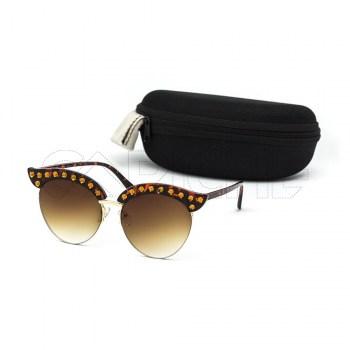 Óculos de sol Anora Castanho