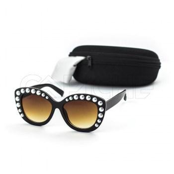 Óculos de sol GPearls Castanho