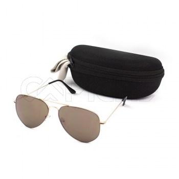 Óculos de sol Aviator Water Brown