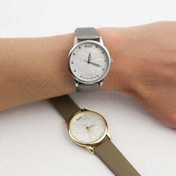 Relógio Avó Prateado