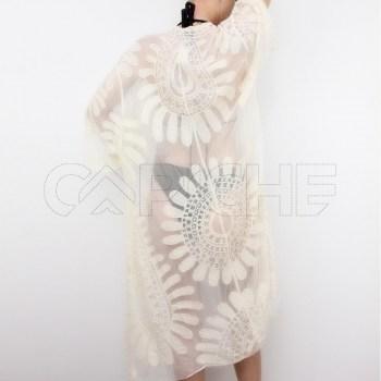 Kimono Flori Cru