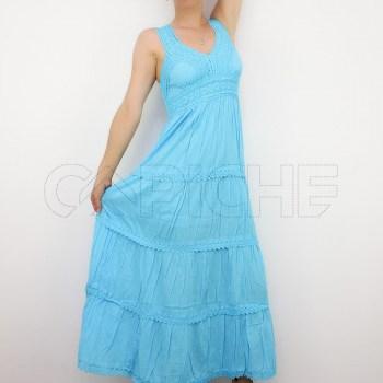 Vestido Sino Azul
