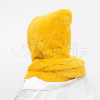 Gola Capuz mostarda