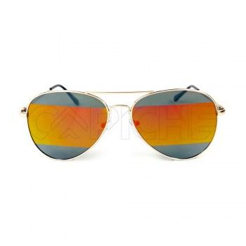 Óculos de Sol Aviator Split Orangi