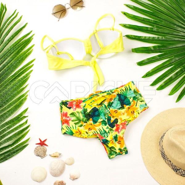 Bikini St Barth Amarelo