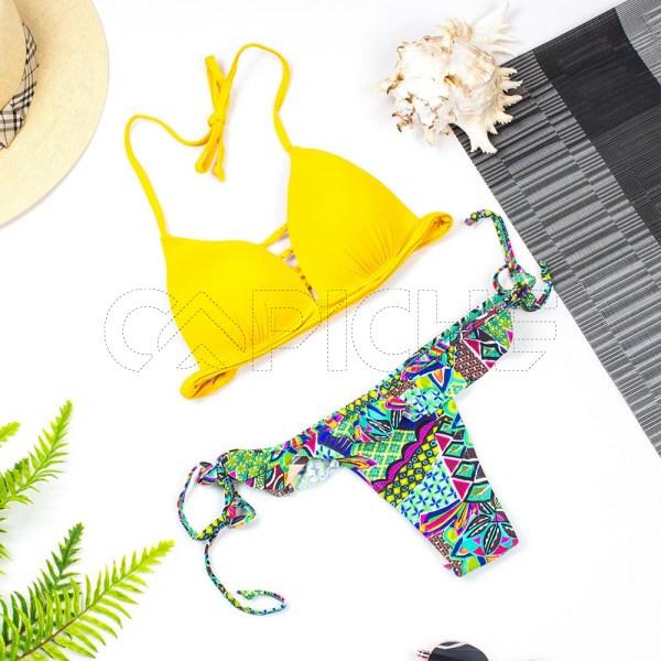 Bikini Morrocoy Amarelo