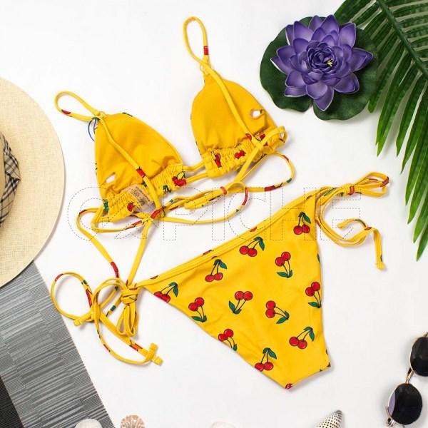 Bikini Cherry Amarelo