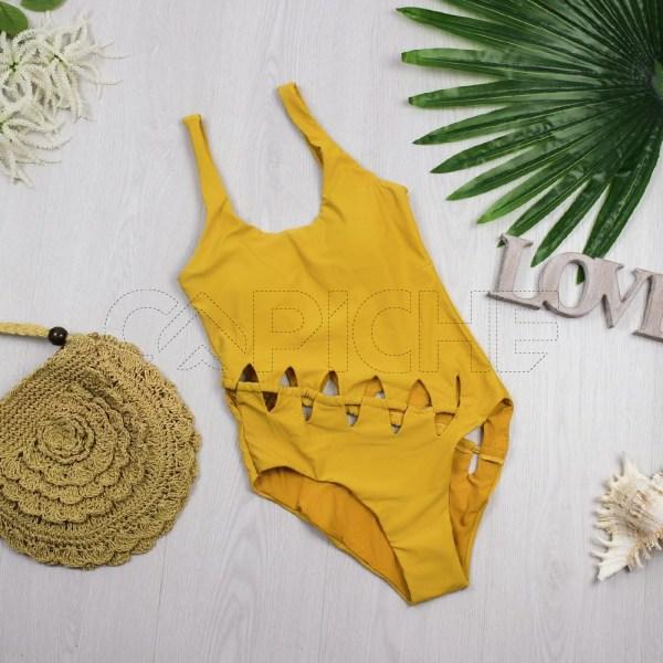 Fato de banho Salema Amarelo