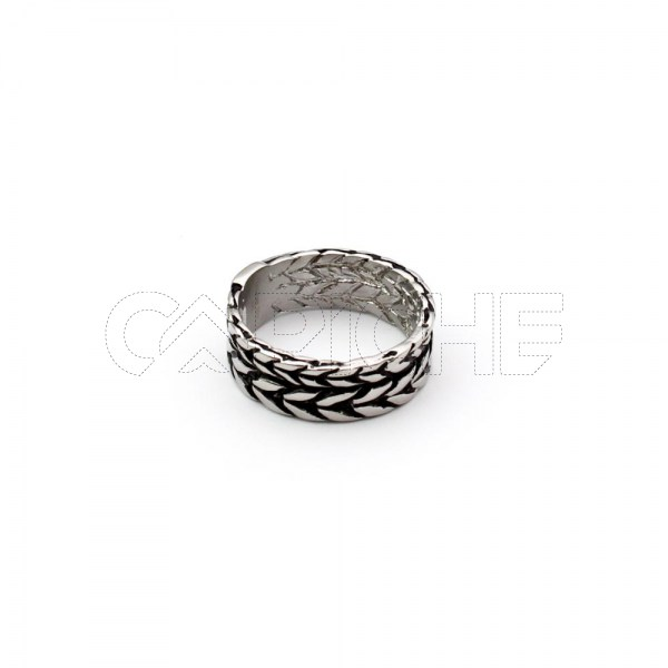 Anel de aço masculino Ocelot