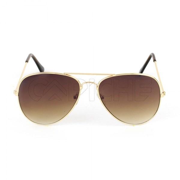 Óculos de sol Aviator Brown