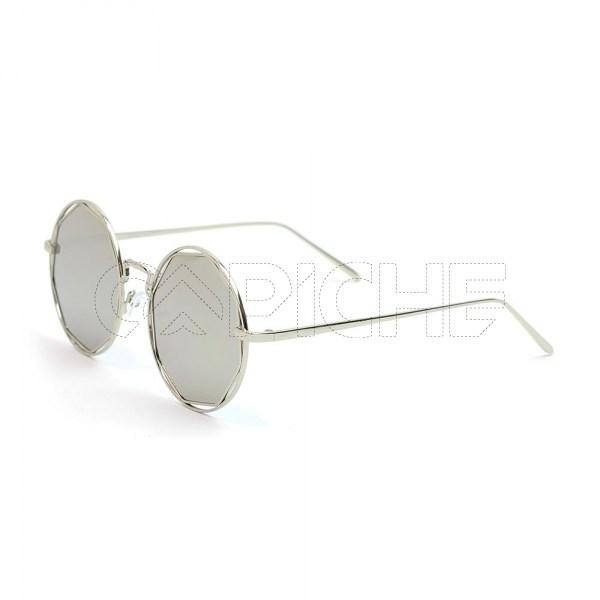 Óculos de Sol Hippie Prata