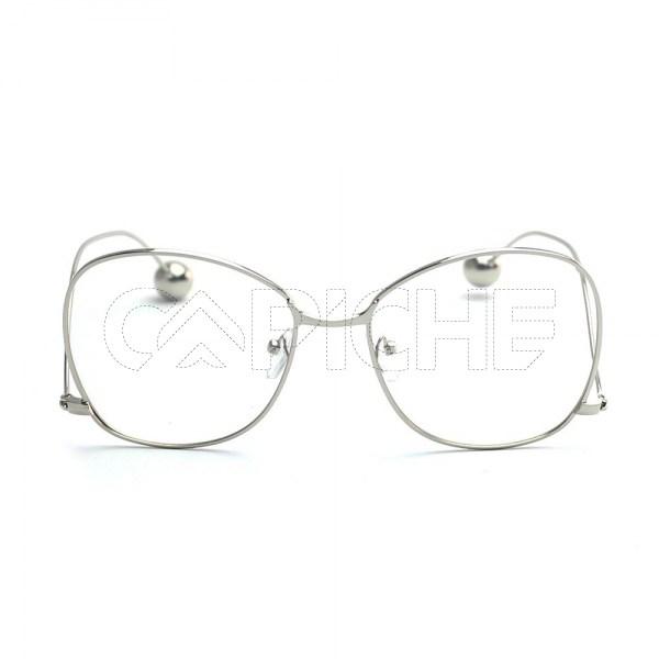 Óculos Estéticos Clear Ball Silver