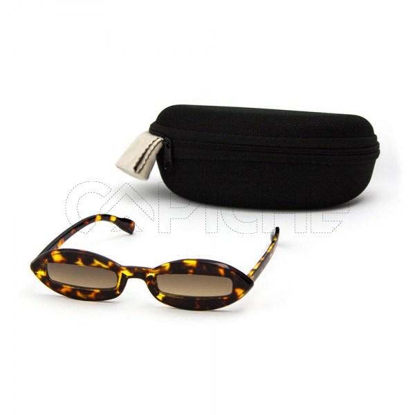 Óculos de sol Alberta Castanho