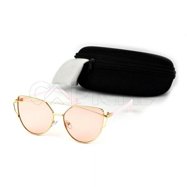 Óculos Estéticos Lovepunch Clear Pink