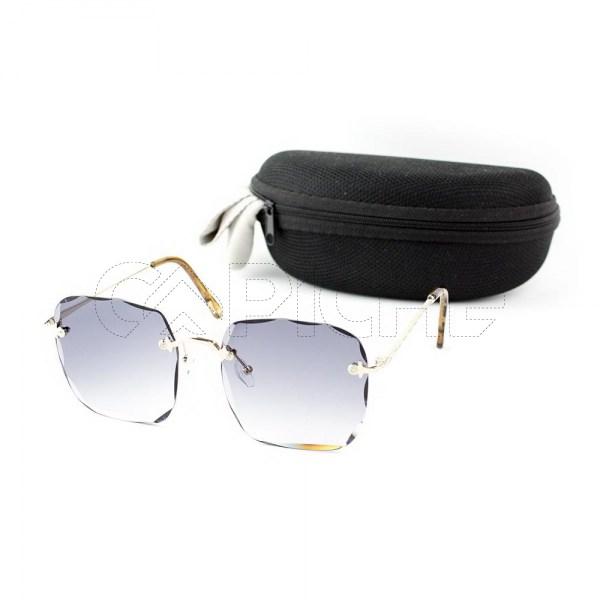 Óculos de sol Xsaran Square Grey