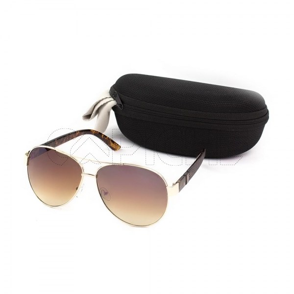 Óculos de sol Aviator Less Brown