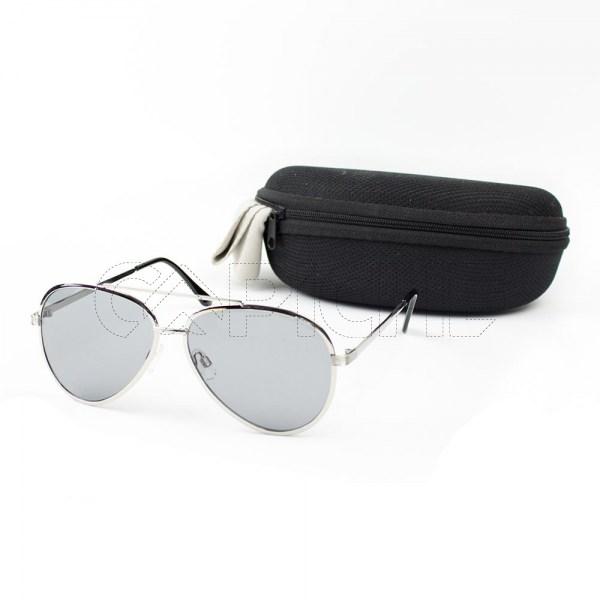 Óculos de sol Aviator Chil Prateado