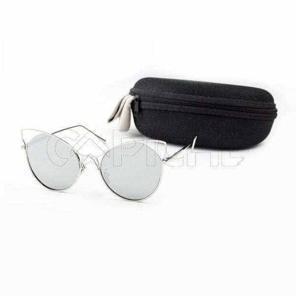 Óculos de sol MiniCat Cinza