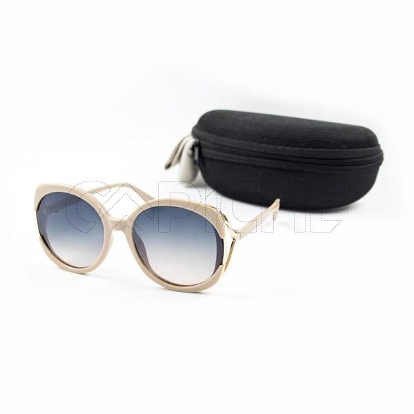 Óculos de sol Glam Creme