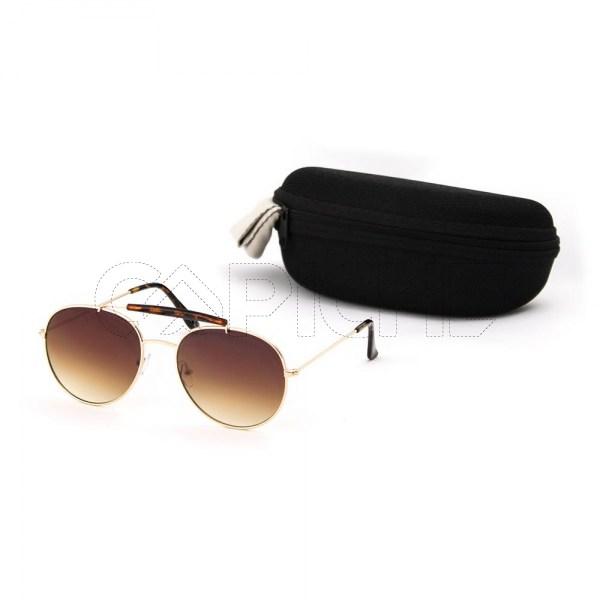 Óculos de sol Pen castanho