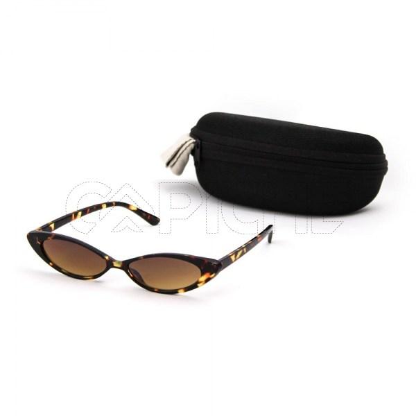 Óculos de sol Poly Castanho