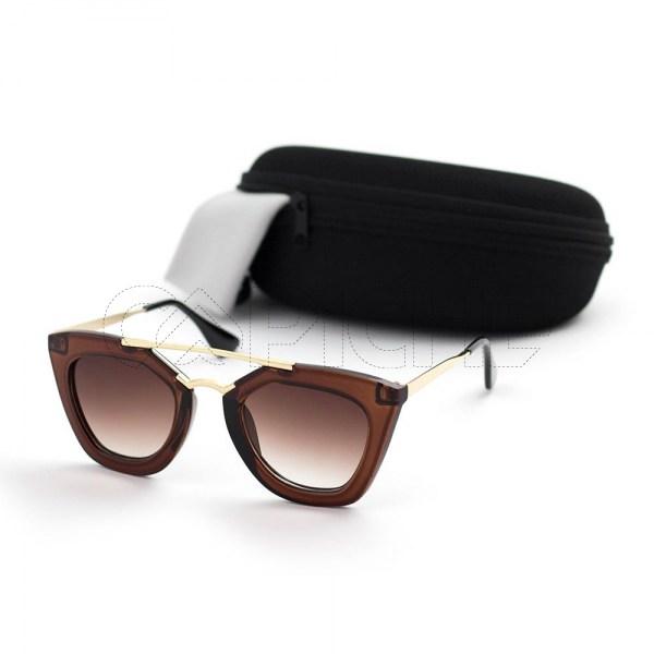 Óculos de sol Retro Brown