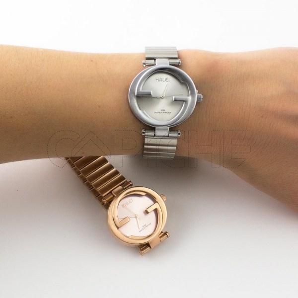 Relógio Aço Galaico
