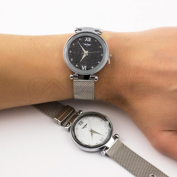 Relógio Miracle Silver