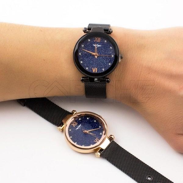 Relógio Miracle Noir