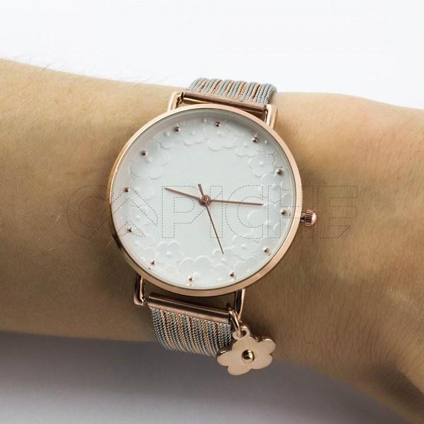 Relógio Florinha Rose