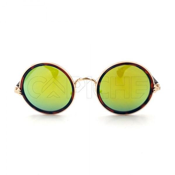 Oculos de sol Round Yellow