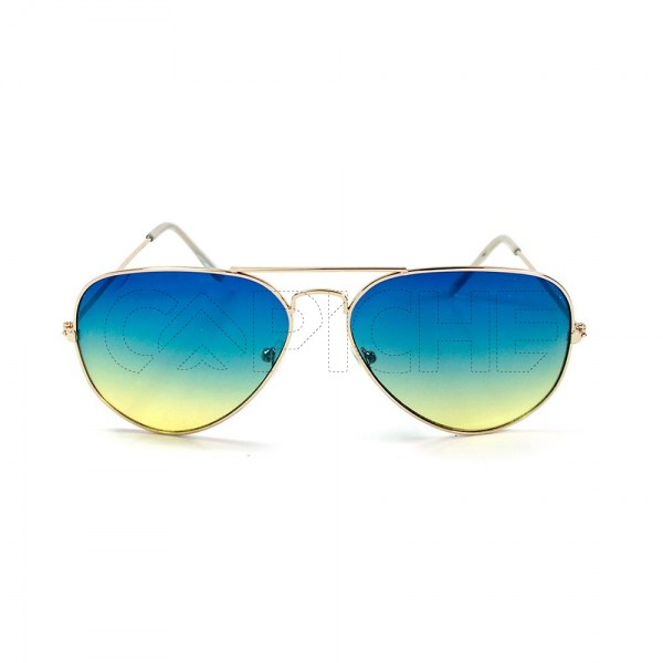 Óculos de Sol Aviator Degrade