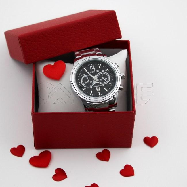Relógio Aço Ducato Black