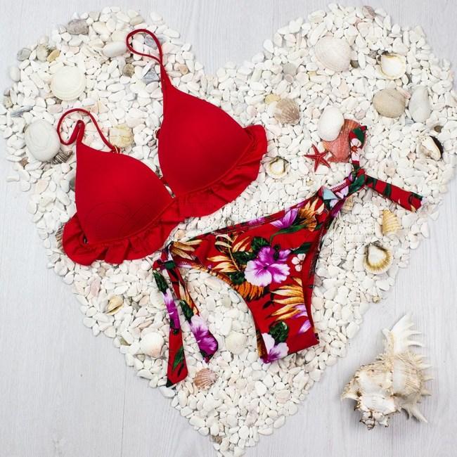 Bikini Malva Vermelho