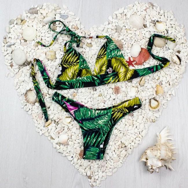 Bikini Fringe Preto