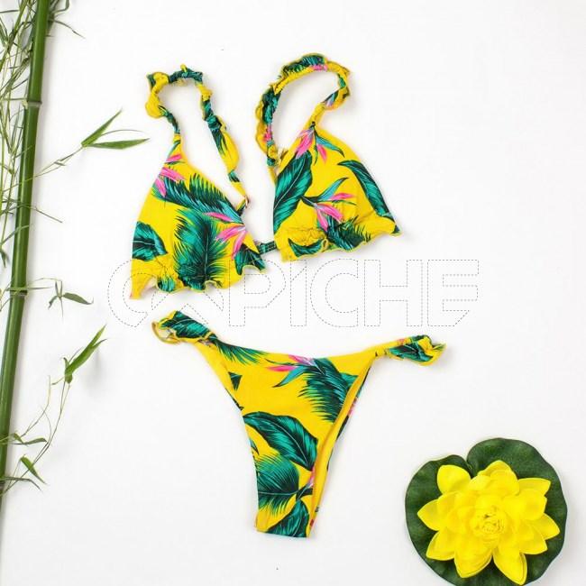 Bikini Caraca Amarelo