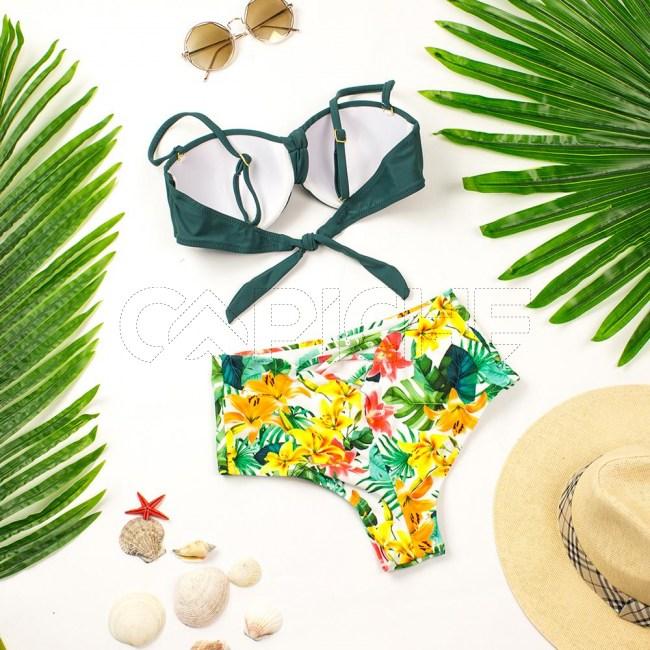 Bikini St Barth Verde
